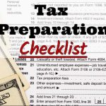 Pronto Income Tax' 2017 Tax Preparation Checklist