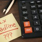 Actualización de la extensión de la fecha límite del IRS del Equipo de impuestos sobre la renta de Pronto